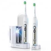 Комплект четки за зъби с акумулаторна батерия Philips HX6932/36, FlexCare Sonicare, UV устройство за дезинфекция на главите
