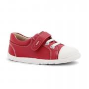 Bobux Piros fehér orrú cipő - 28 (4-5 éves)