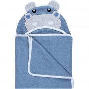 Bubaba ručnik s kapuljačom Hippo 110×75 cm