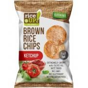 Rice Up Barna Ketchupos Rizs Chips 60 g