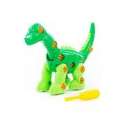 """POLESIE 76724-pad-uri dinozaur """"Diplodocus"""" 35el. sac"""
