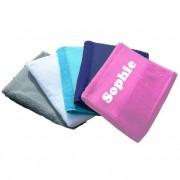 Sport handdoek met naam bedrukt
