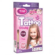 TyToo Glitter Tattoo Kit for Girls with 15 Amazing Stencils - Hypoallergenic and Cruelty Free 8-18 Lasting Temporary Tattoos