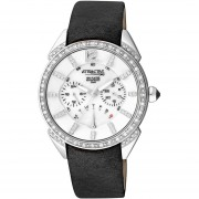 Reloj ATTRACTIVE Q&Q DA77J301Y Urbanity Collection Multifunción Análogo-Negro
