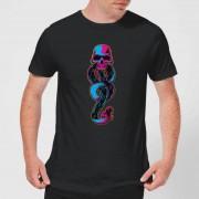 Harry Potter Dark Mark Neon t-shirt - Zwart - 3XL - Zwart
