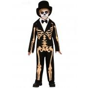 Vegaoo.es Disfraz esqueleto elegante niño - 5-6 años (110-115 cm)