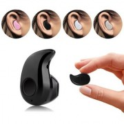 Samsung Galaxy A9 Star Compatible Mini Style Wireless Bluetooth In-Ear V4.0 Stealth Earphone Headset By GO SHOPS