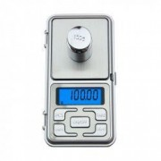 Mini cantar electronic de buzunar pentru bijuterii cu afisaj LCD 222 capacitate pana la 200g