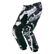 Oneal O´Neal Element Shocker Pantalones de Motocross Negro/Blanco 30