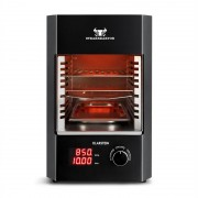 Klarstein Steakreaktor 2.0, 1600 W, szobai elektromos grillsütő, 850 °C, infravörös sugárzás (GQBF-Steakreaktor)