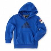 adidas Sweat à capuche Bleu adidas enfant - 7-8A OL - Foot Lyon