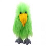 The Puppet Company Basic Birds Green Bird Hand Puppet