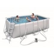 Montažni bazen 412 x 201 x 122 cm sa filterom i ljestvama Bestway