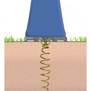D125 - Pribor za učvršćivanje na pješčanu ili travnatu podlogu