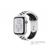 Apple Watch Nike+ Series 4 GPS, 40mm,srebrni sa crnim Nike sportskim remenom