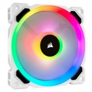 Вентилатор за кутия Corsair LL120 RGB, 120 mm Dual Light Loop RGB LED PWM Fan, Single Pack, White, CO-9050091-WW