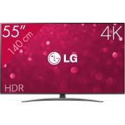 LG 55SM8200PLA tv 139,7 cm (55'') 4K Ultra HD Smart TV Wi-Fi Zwart, Zilver
