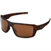 Oakley Double Edge Matte Tortoise - Prizm Tungsten Polarized