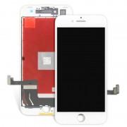 Wigento Komplett Avläsningsenheten LCD pekskärm kompatibel för Apple iPhone 7 plus 5,5 vit