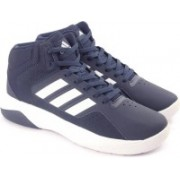 ADIDAS NEO CLOUDFOAM ILATION MID Basketball Shoes For Men(Blue)