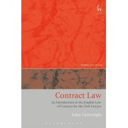 Contract Law. An Introduction to the English Law of Contract for the Civil Lawyer, Paperback/John Cartwright