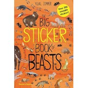 The Big Sticker Book of Beasts, Paperback