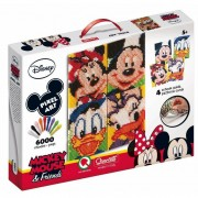 Quercetti gioco con i chiodini wd pixel art mickey and friends 0807
