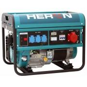 Heron EGM-60 AVR-3 háromfázisú áramfejlesztő 6 kVA + AJÁNDÉK OLAJ