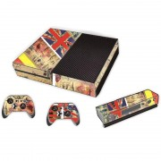 MicroSoft UK Vlag patroon Stickers voor Xbox One Game Console