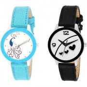 HRVNew Fashion Lifestyle Queen Analog Watch Sett Of Two For Girls and Women 037 Watch