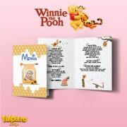 Meniu pentru botez cu Winnie the Pooh (Model2)