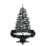 oneConcept EverWhite Snowing Christmas Tree 180cm LED Music