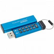 Kingston 16GB Keypad USB 3.0 DT2000/ 256bit AES Hardware Encrypted, EAN: 740617247985 DT2000/16GB
