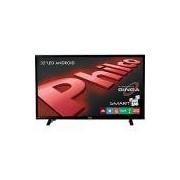 Smart TV LED 32 Philco PH32E20DSGWA HD com Conversor Digital 2 USB 2 HDMI Wi-Fi Android - Preta