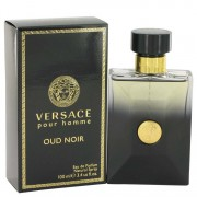 Versace Pour Homme Oud Noir Eau De Parfum Spray 3.4 oz / 100.55 mL Men's Fragrance 517302