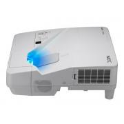 NEC UM361X Ultra-short throw projector, LCD, XGA, 3600AL incl. Wall-mount