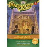 The Imagination Station Special Pack, Books 7-9: Secret of the Prince's Tomb/Battle for Cannibal Island/Escape to the Hiding Place, Paperback