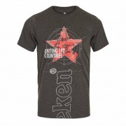 Heineken Those who buy this Heineken T-shirt don't compromise their comfort for style. This grey men's crew neck tee is the perfect choice. Made from 100% cotton and featuring the Heineken logo on the front, you can wear this T-shirt anywhere and