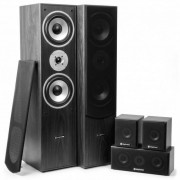 5.0 sistema home cinema 335W RMS nero