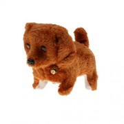 Kids Walking Barking Tail Wagging Puppy Dog Batteries Operated Toy - MultiColor