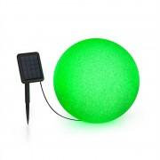 Blumfeldt Shinestone Solar 40, gömblámpa, napelem, Ø 40 cm, RGB-LED, IP68, akkumulátor (LEU13-Shinestone-40)