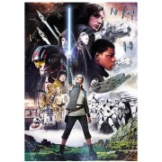 Puzzle Trefl - The Last Jedi - Star Wars VII, 500 piese (61527)