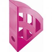 """helit innovative Büroprodukte GmbH """"helit """"""""the bridge"""""""" Stehsammler, DIN A4-C4, Der klassische Stehsammler in farbenfrohem Design für's Büro oder Zuhause, Farbe: pink"""""""