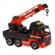 Polesie Mammoet Volvo Crane Truck 52x19x37 cm Red and Black 1450636
