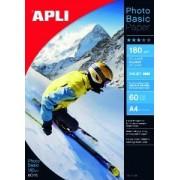 agipa Apli agipa 04135 : papier photo basic A4 brillant 180 g/m² - Bte 60 feuilles