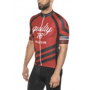 guilty 76 racing Velo Club Pro Race Jersey Herr red M 2019 Racertröjor