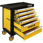 Skrinka dielenská pojazdná 6 zásuviek Vorel TO-58539
