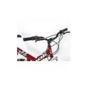 Bicicleta Kanguru Full Suspension V-Brake - Aro 26 com 18 Marchas Quadro em Aço Carbono.