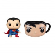 Superman Y Taza De Ceramica Funko Pop Home Justice League DC 2018