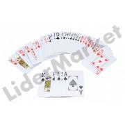 Set carti de joc Poker Club - rosu